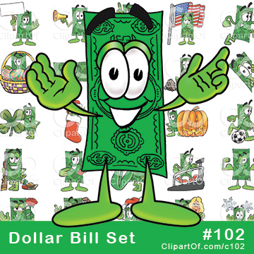 Dollar Bill Mascots [Complete Series]