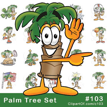 Palm Tree Mascots [Complete Series]