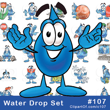 Water Drop Mascots [Complete Series] by Toons4Biz