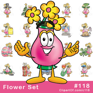 Flower Mascots [Complete Series]