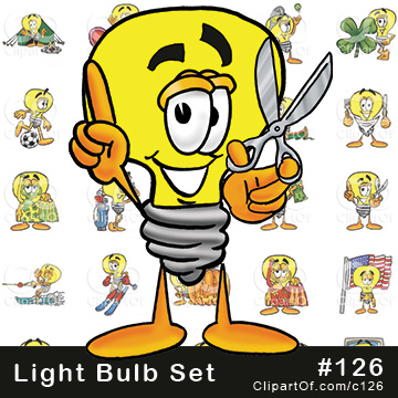Light Bulb Mascots [Complete Series]