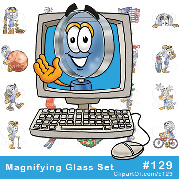 Magnifying Glass Mascots [Complete Series]