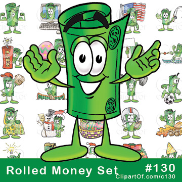 Rolled Money Mascots [Complete Series] #130