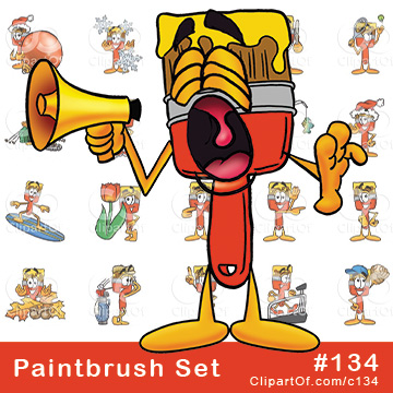 Paint Brush Mascots [Complete Series]