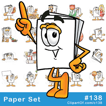 Paper Mascots [Complete Series]
