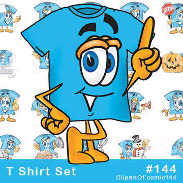T Shirt Mascots [Complete Series]