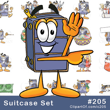 Suitcase Mascots [Complete Series]