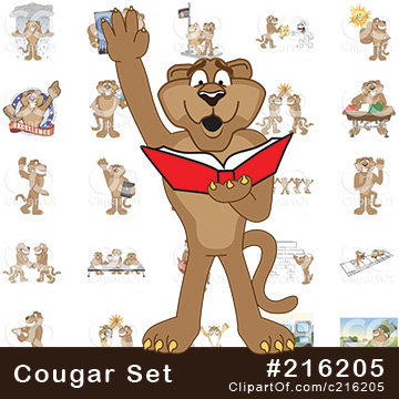 Cougar School Mascots [Complete Series]