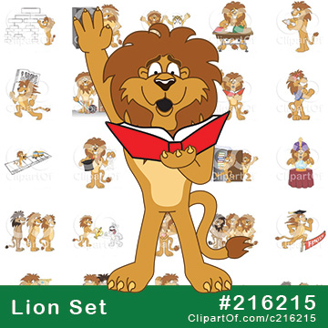 Lion School Mascots [Complete Series]