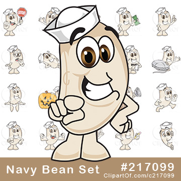 Navy Bean Mascots [Complete Series]
