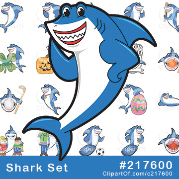 Shark Mascots [Complete Series]