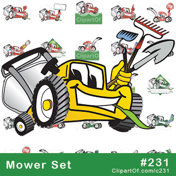 Lawn Mower Mascots [Complete Series]