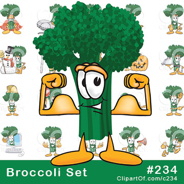 Broccoli Mascots [Complete Series]
