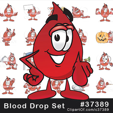 Blood Drop Mascots [Complete Series]