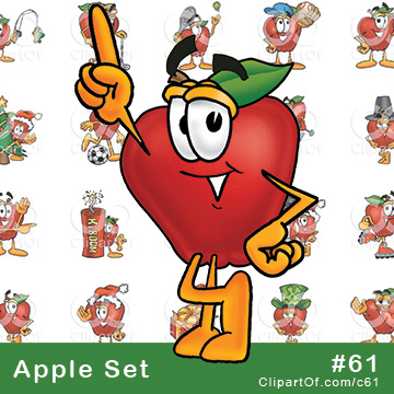 Red Apple Mascots [Complete Series] by Toons4Biz