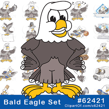 Bald Eagle Mascots [Complete Series]