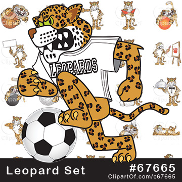 Leopard Mascots [Complete Series]