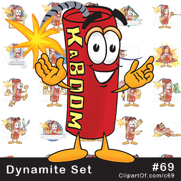 Dynamite Mascots [Complete Series]