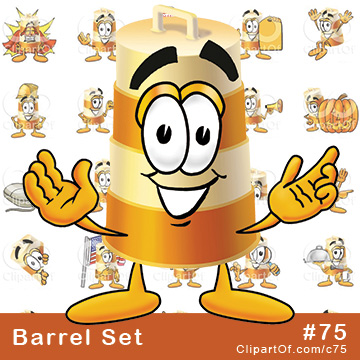 Barrel Mascots [Complete Series]