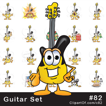 Guitar Mascots [Complete Series]