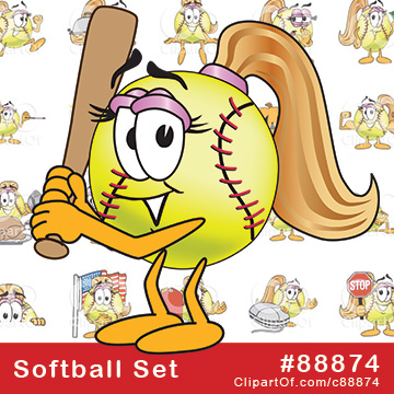 Softball Mascots [Complete Series]