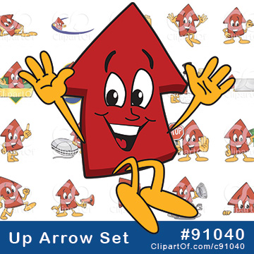Up Arrow Mascots [Complete Set!]
