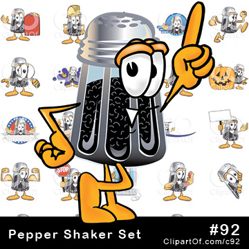 Pepper Shaker Mascots [Complete Series]