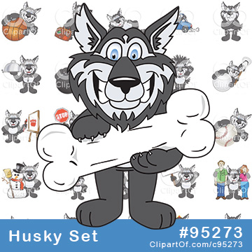 Husky Mascots [Complete Series]