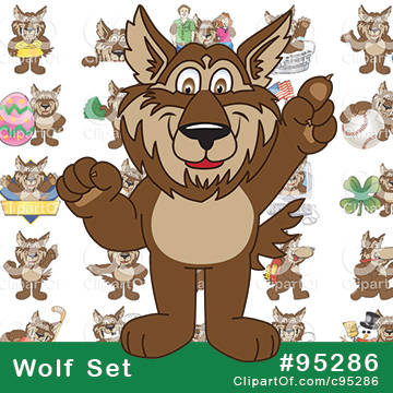 Wolf Mascots [Complete Series]