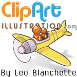 Clipart Illustration by Leo Blanchette