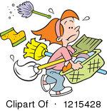 Royalty Free Rf Mop Clipart Illustrations Vector